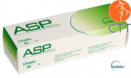 ASP Original Classic, 80 needles per box, stainless steel