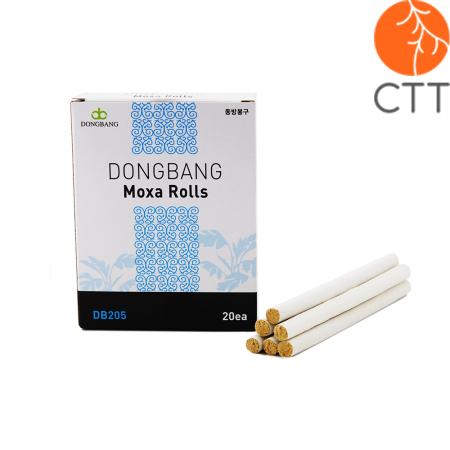 DongBang Moxa Rolls, 20 rolls 9 x 120 mm