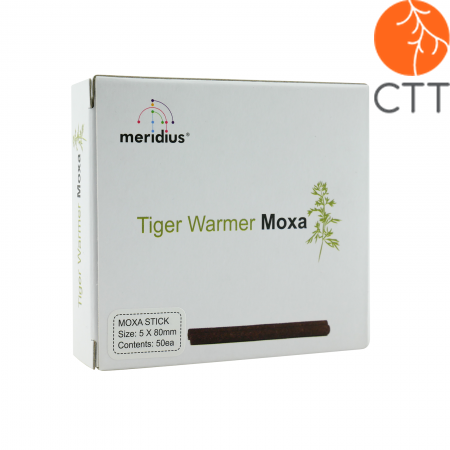 Tiger Warmer Moxa 5mm x 80 mm, 50 pcs