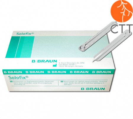 Blood lancets, 200 pieces per box from Braun