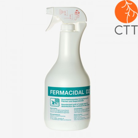 FERMACIDAL 1 liter spray bottle disinfect surfaces and objects