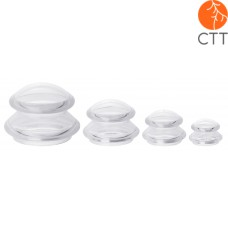 Silicone cupping jars set