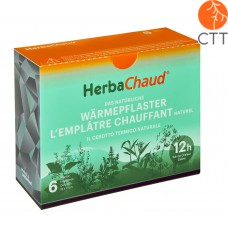 HerbaChaud, The natural heating patch, box with 6 patches