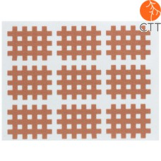HerbaChaud cross tape, skin colour, in 3 different sizes