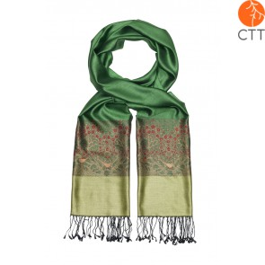Silk scarf Deluxe HARMONY, 100% natural silk from India