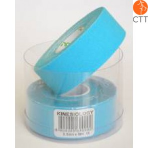 NASARA Tape, blue, 2.5cm x 5m, small, 2 rolls