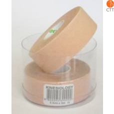 NASARA Tape, skin colour, 2.5cm x 5m, small, 2rolls