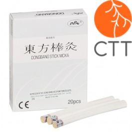 DongBang Moxa-Rollen, 20 Rollen, 9mm x 120mm