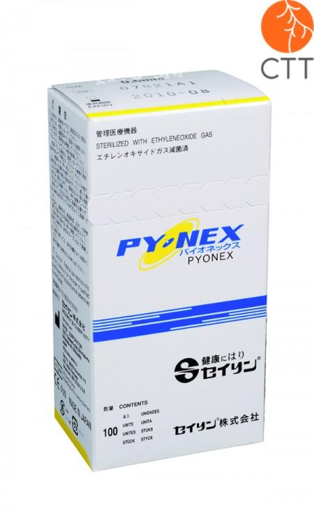 SEIRIN Pyonex Dauernadeln für Ohr und Körper, 100 Stk. Box