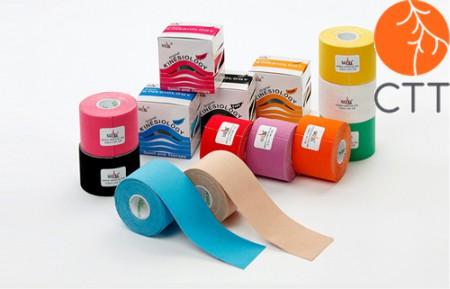 NASARA Kinesio Tapes 5 cm x 5 m in 8 verschiedenen Farben