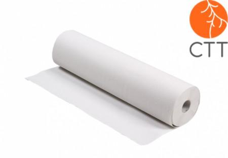 Papierrollen - Abdeckrollen - Liegenpapier, 2lagig, 9 Rollen à 45m x 60cm weiches Tissue; weiss, Blattabriss alle 35cm