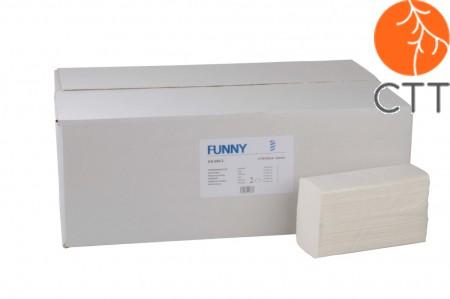 Papierhandtuch, Falzhandtuch,2-lagig, weiss, 3750 Stk. pro Karton
