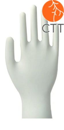 Nitril Einweghandschuhe, weiss, puderfrei, 100 Stück pro Box