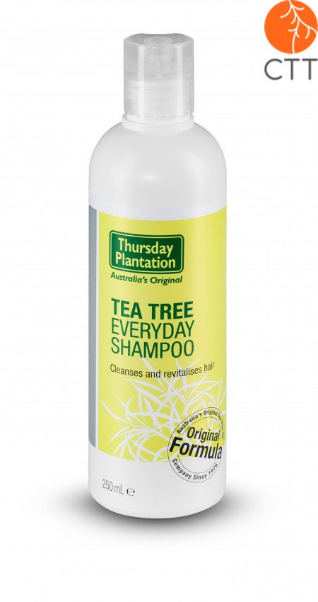 Teebaumöl Haarschampoo, 100% rein, 250ml, Original Thursday Plantation Australi