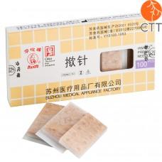 HWATO Ohrdauernadeln Typ Reissnägelchen 100 Stk., 0.22 x 1.3mm