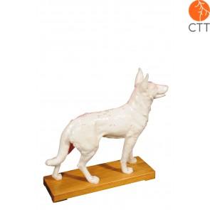 Hund Hartplastik, 31 x 28 x 8cm