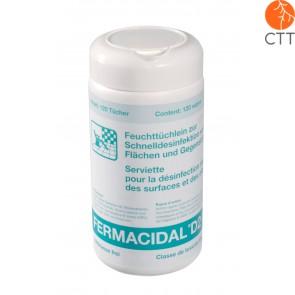 FERMACIDAL Desinfektionstücher in Dose inkl. Tücher