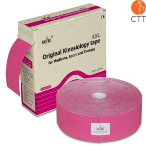 NASARA® Tape, pink,  5cm x 32m, Klinikversion