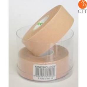 NASARA® Tape, beige,  2.5cm x 5m, schmal