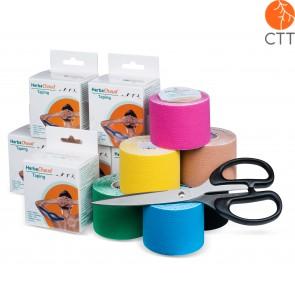 HerbaChaud® Tape STARTER SET KLEIN, 12 Rollen + Schere