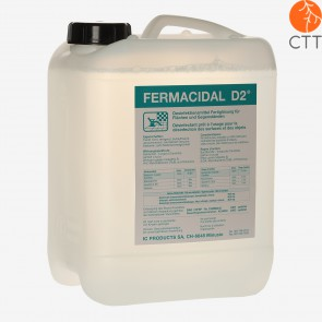 FERMACIDAL D2 10 Liter Kanister Desinfektion Flächen und Objekte ohne Alkohol