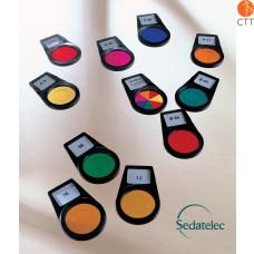 Sedatelec, 8 Farbfilter nach Nogier, PCFPN