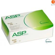 ASP GOLD Ohrdauernadeln von Sedatelec 200 Stk./Box