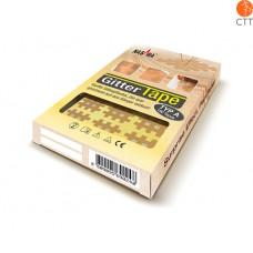 Gittertape von NASARA, beige 3cm x 4cm, 20 Blatt à 6 tapes