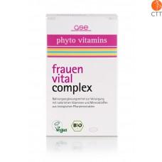 Frauen Vital Complex, Bio, 60 Tabletten à 500mg (30g)