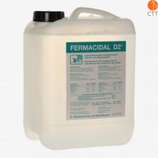 FERMACIDAL D2 Desinfektion, 5 Liter Behälter Desinfektion Flächen und Objekte