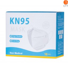 Schutzmasken N95, FFP2  1 Box à 10 Stueck, einzeln verschweisst verpackt