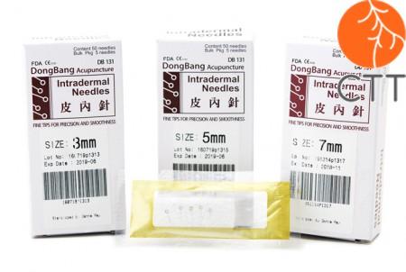 Aiguilles intradermiques 50 pcs de Dongbang DB131, en 3 tailles différentes
