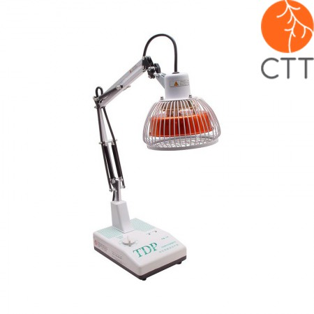 Lampe de table TDP modèle CQ12, tête avec plaque minérale, minuterie manuelle