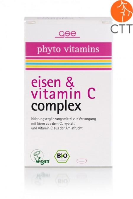 BIO Fer et Vitamine C Complex, 60 tbl. à 500mg (30g)