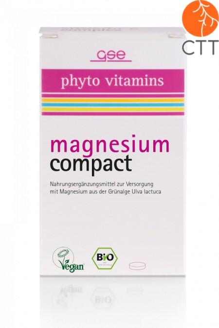 Magnésium Compact BIO, végétalien, 60 comprimés de 615 mg