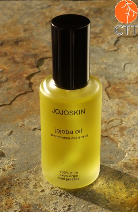 JojoSkin, huile de Jojoba 100% pure et naturelle, 1 fl.à 60ml.