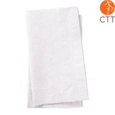 Essuie-mains, blanc, 2 pli, 3750 pièces par carton