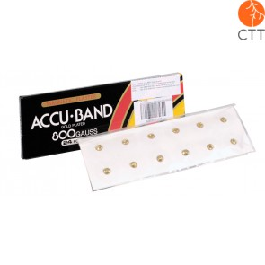 ACCU BAND, aimants magnétique, 6000 Gauss, 12pcs/box