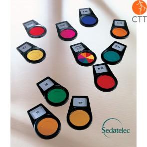 Sedatelec, Programme couleur frequentiel P. Nogier, 8 couleurs, PCFPN