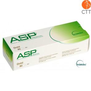 ASP ORE Aiguilles pour auriculothérapie Sédadtelec 80 pcs/boîte, dorée