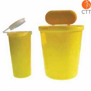 Récipient pour récupération d´aiguilles plastic, 1.6 litre