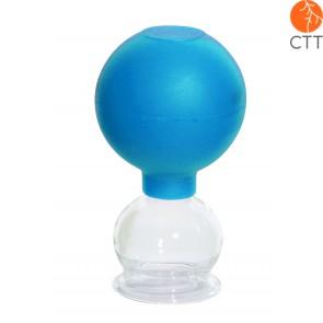 HerbaChaud ventouse en verre avec ballon de HerbaChaud en 5 grandeurs différentes:
