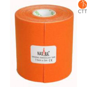 bandes de NASARA®, orange, 7.5cm x 5m, extra large