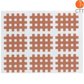 HerbaChaud cross (grille) tape beige, en 3 grandeures différentes