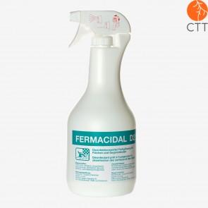 FERMACIDAL bouteille 1 litre avec spray désinfectant de surfaces et objets