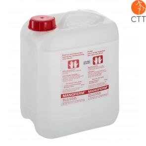 MANOFERM désinfectant pour la peau et les mains sans alcool, 10 litres, bidon