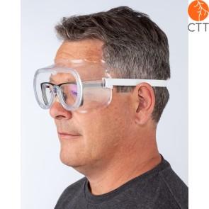 Lunettes de sécurité pour porteurs de lunettes, CE