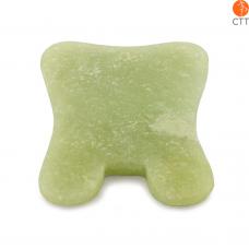 Outil de massage rectangulaire en jade Gua Sha