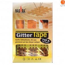 Nasara cross tape beige 2cm x 3cm