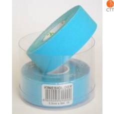 bandes de NASARA, bleu, 2.5cm x 5m, étroit, 2 rouleaux